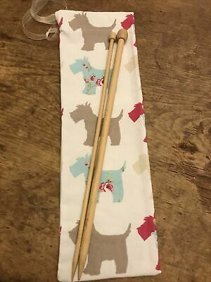 Knitting Needle Case, Knitting  Bags, Drawstring Knitting Needle Bag. Storage • 3.95£