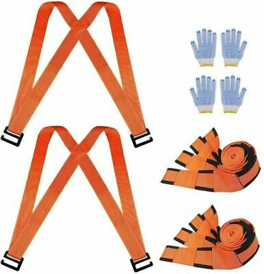 AU81.31 • Buy Trendy Moving Straps Lifting And Moving System  Carry Furniture Appliances