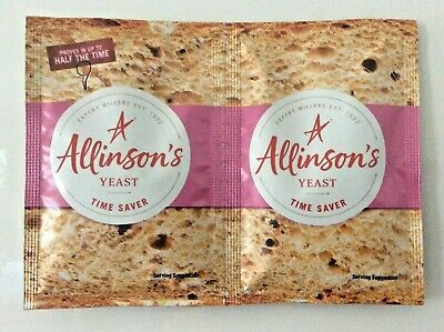 Allinsons Fast Acting Dried Yeast Sachets 2 X 11g Easy Bake Bread Quick Instant  • 2.75£