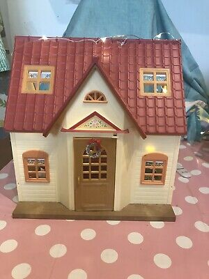 Sylvanian Families Decorated Country Cottage Starter Home • 40£