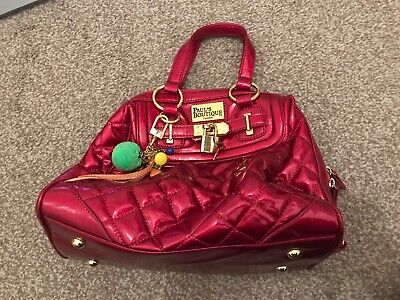 Paul's Boutique Pink Leopard Women's Bag - With Extra Strap • 3.30£