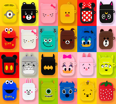 AU6.75 • Buy Airpods Case Silicone Iconic Cartoon Character