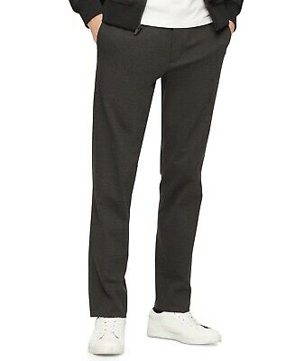 $ CDN8.83 • Buy Calvin Klein Mens Pants Gray Size Small S Slim Fit Jogger Stretch $98 #060