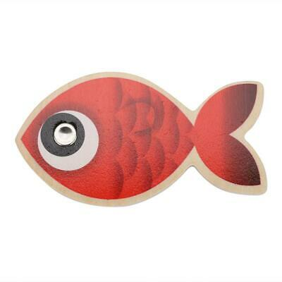 £9.31 • Buy 14 Fishes + 2 Fishing Rods Wooden Magnetic Fishing Game Kids Children Educationa
