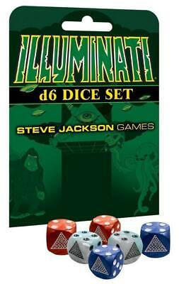 AU35 • Buy Illuminati D6 Dice Set