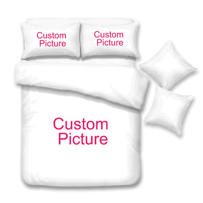 Personalized Bed Sheet Custom Blanket With Pictures, Photos & Name For Homedecor • 31.11£