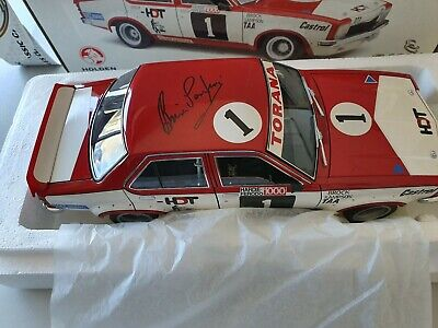 AU595 • Buy Signed 1:18 Classic Holden LH L34 HDT Torana #1 Peter Brock 1974 Bathurst 1000