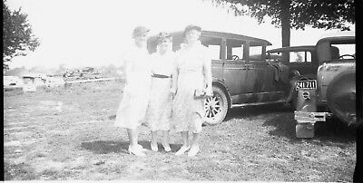 $ CDN5.62 • Buy Photo Negative Indiana Automoble License Cars Granny's Amateur Old 1934 Film