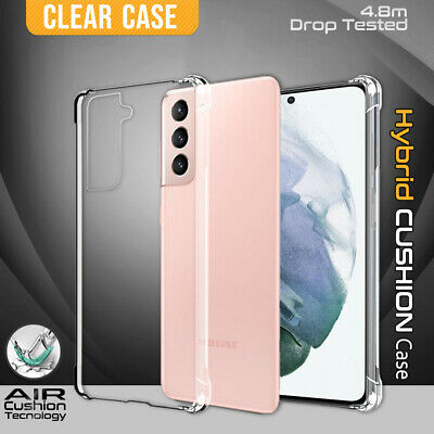 AU8.99 • Buy For Samsung Galaxy S21 S20 Plus Ultra S10 S9 Note 20 Clear Case Heavy Duty Cover