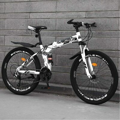 AU199.98 • Buy  Gvqng Mountain Bike Foldable 24 Inch Wheel Variable Speed Double Shock System