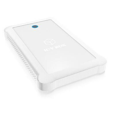 ICY BOX IB-233U3-Wh 2.5inch HDD/SSD Enclosure White • 17.15£