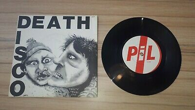 Public Image Ltd - Death Disco Single 7  Vinyl  Record PIL Punk 1979 • 5.50£