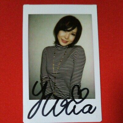$ CDN81.68 • Buy Yuria Satomi Signed Cheki Photo First Come First Served Only One 2137