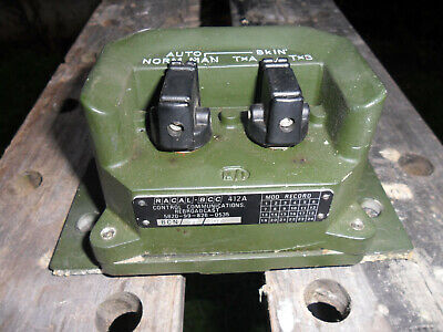 Military Clansman Radio Racal Re-broadcast Box • 10£