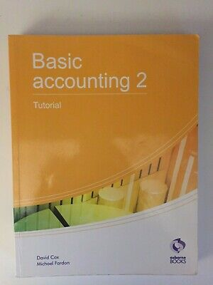 Basic Accounting 2 Tutorial (AAT Accounting - Le... By Fardon, Michael Paperback • 4.49£