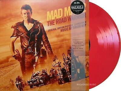 £15.95 • Buy MAD MAX 2 The Road Warrior LP RED VINYL Limited Gatefold Sleeve 2021 MAILS SAME