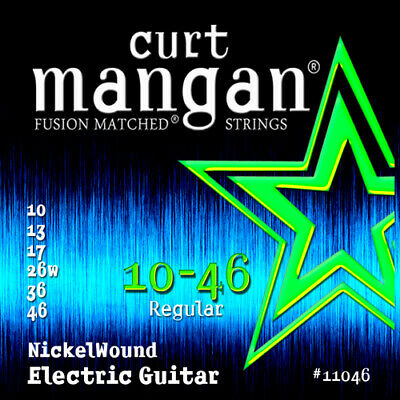 $ CDN12.52 • Buy Curt Mangan Fusion Matched Nickelwound Electric Guitar Strings; Gauges 10-46