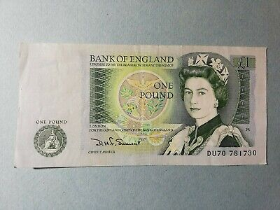 Bank Of England Old Pound Note • 1.20£