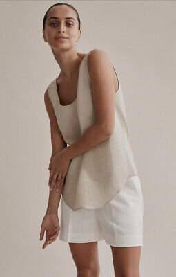 AU39.95 • Buy Country Road Linen Tank , Flax BNWT , Size 4 , RRP $99.95