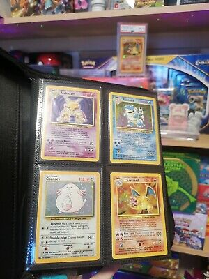 Complete Base Set 1 - 102/102 - Unlimited - Pokemon Cards • 700£