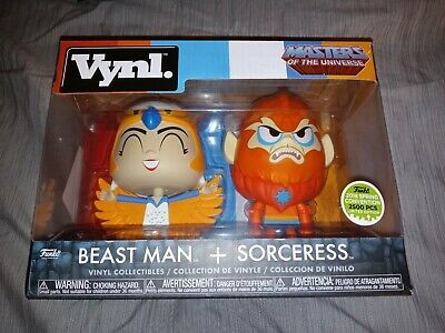 $0.99 • Buy Funko Vynl Masters Of The Universe Beast Man & Sorceress Limited Edition 2500pcs