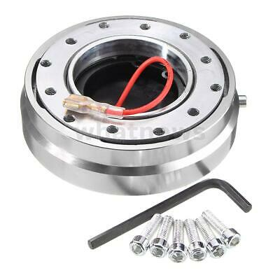 Removable Car Steering Wheel Quick Release Hub Adapter Snap Off Boss Kit   • 13.99£
