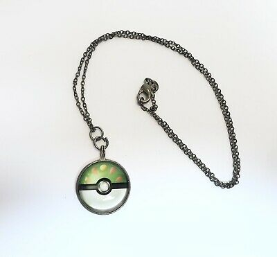 Friendship Ball Pokeball Pokemon Charm Necklace Cute Pendant • 1.52£