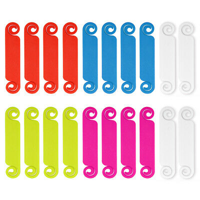 20x 5 Colour Wire Cable Labels Tag Marker Cord Identification Handwriting • 6.69£