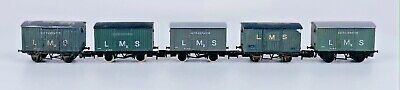 AU44.25 • Buy N Gauge Mixed Rake Of 5 Assorted Freight Wagons Lms Vent Refrigerator Ub