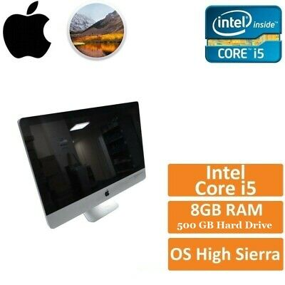 Apple IMac 21.5  Desktop Computer All-in-one A1311 Mid 2011 I5 2.5GHZ 8GB 500GB  • 219£