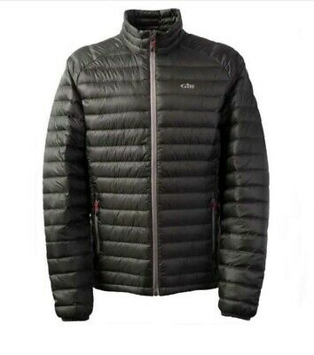 GILL Hydrophobe Down Men's Jacket, Colour Dark Grey, Size Small • 45£