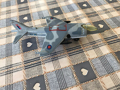 Vintage Matchbox Skybusters Harrier SB27 Model Plane Collectible • 5£