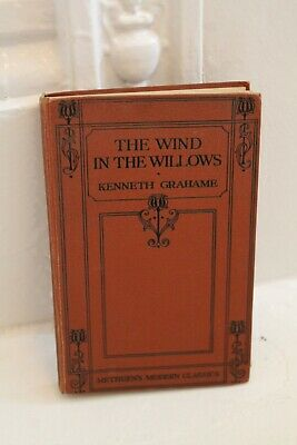 The Wind In The Willows - 1930s Vintage Book By Kenneth Grahame • 9.99£