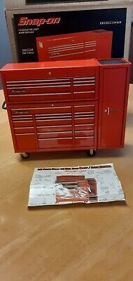 SNAP ON 1.8 Scale Money Bank. Red. Die Cast. Mini Tools. Boxed. • 50£