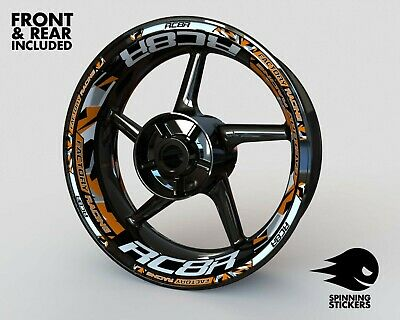 £53.99 • Buy Wheel Stickers For KTM RC8R RC8 Rim Tape Motorcycle Decals Graphics