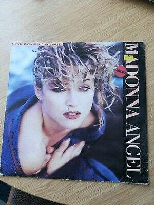 """Madonna Angel/into The Groove  12"""" Import • 9.99£"""