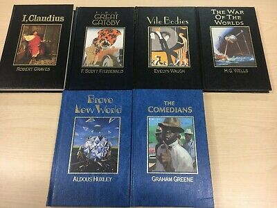 6x Marshall Cavendish The Great Writers Books: I Claudius, The Great Gatsby +  • 6.50£