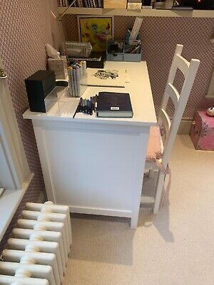 Girl's Desk And Chair Set, Pull Out Drawer, Seat Cushion  • 250£