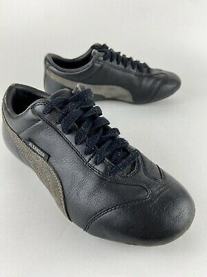 £32.58 • Buy RARE Jil Sander X Puma Driving Shoes Sneakers Black Leather Lace Up Women's 5