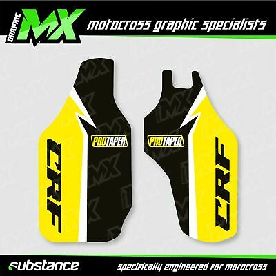 $ CDN28.98 • Buy MX Graphic: Honda CRF CRF250 CRF450 ProTaper Lower Fork Guard Stickers Decals