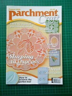 Parchment Craft Magazine - August 2008 • 0.50£