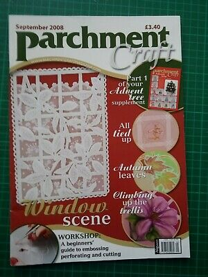 Parchment Craft Magazine - September 2008 • 0.50£