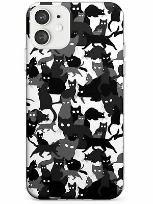 £9.95 • Buy Black & White Cat Camouflage Pattern Slim TPU Case For IPhone Camo Pattern