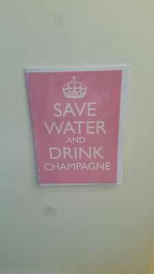 £1 • Buy Greeting Card - Save Water And Drink Champagne!