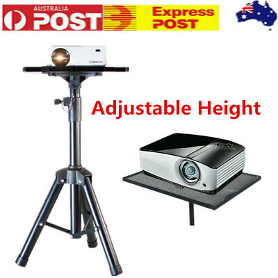 AU48.39 • Buy Projector Tripod Stand Adjustable For Laptop W/ Tray 60-120cm Height Aluminium