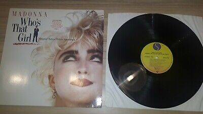 Madonna - Who's That Girl Soundtrack Album LP 12  Record Vinyl Pop 1987 • 0.99£
