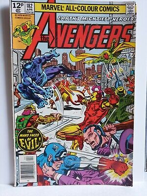 Comic💎The Avengers: Earths Mightiest Heroes #182 Marvel: Apr , 1979 • 3£