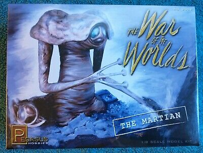 Pegasus Hobbies Model Kit 9008 War Of The Worlds The Martian 1/8 New • 45£