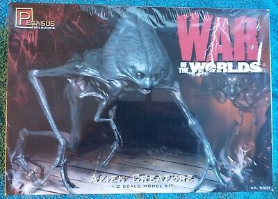 Pegasus Hobbies Model Kit 9007 The War Of The Worlds Alien Creature 1/8 New • 43£