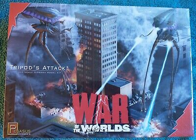 Pegasus Hobbies Model Kit 9006 The War Of The Worlds Tripod's Attack 1/350 New • 75£